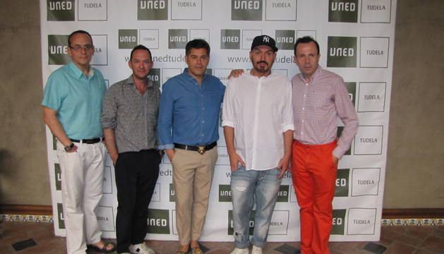 Ponentes del curso de Moda en la UNED de Tudela