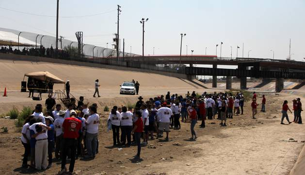Imagen de un evento celebrado en el lugar del suceso.