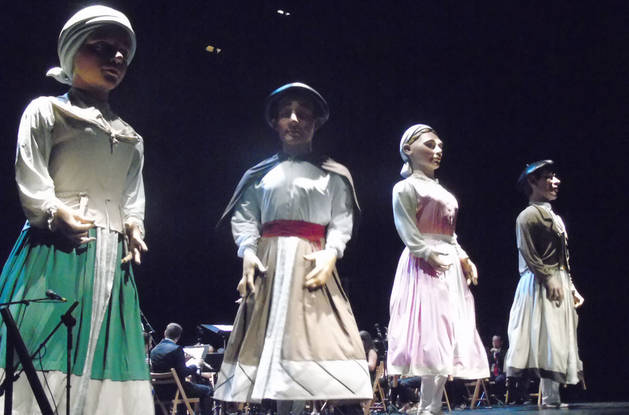 Un espectáculo a la altura de la siempre mágica noche de San Juan