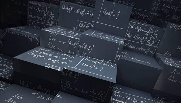 Imagen de varios algoritmos matemáticos.