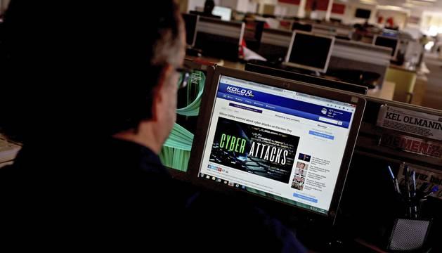 El ataque informático en las noticias