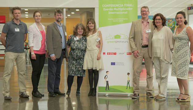 foto de Participantes en la jornada de clausura del proyecto Greenpreneurs.