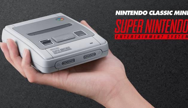 Super NES Classic Edition.
