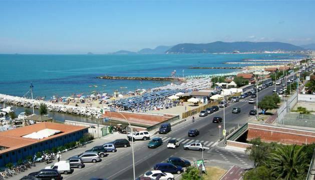 La localidad turistica Marina Di Massa