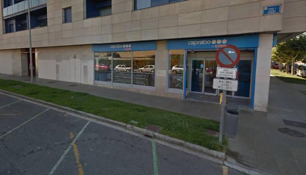 Supermercado en el que se produjo el atraco.