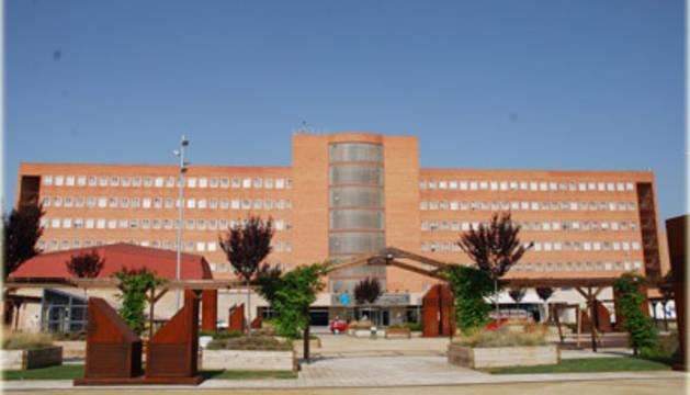 El hospital donde está ingresada