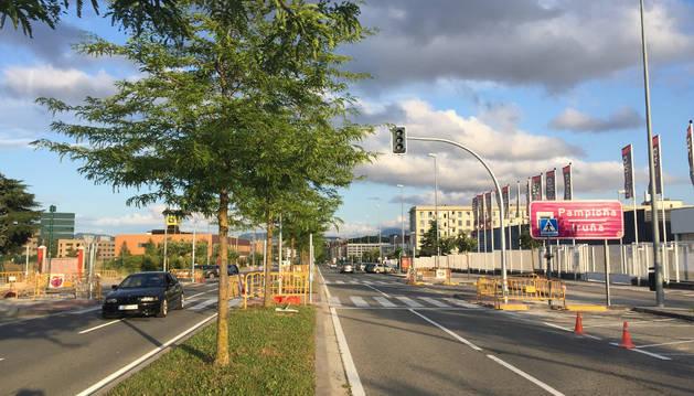 Nuevo semáforo en la avenida de Guipúzcoa.