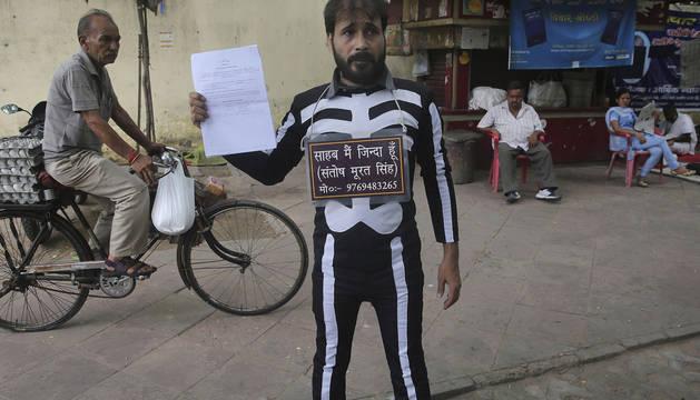 Santosh Murat Singh, declarado muerto tras aceptarse la solicitud presentada por un familiar.
