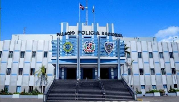 La sede de la Policía Nacional en Santo Domingo