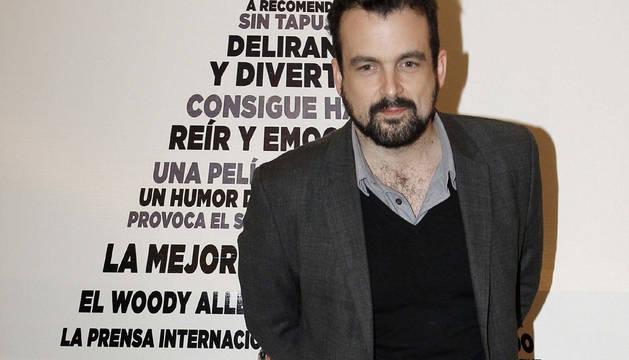 El director español Nacho Vigalondo.