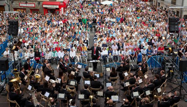 Imagen de un concierto de La Pamplonesa.