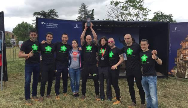 El Naturalista Team, ahora Evolution Team, en la Farinato Race de 2016
