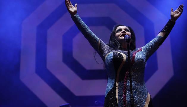 Foto de la cantante Olvido Gara 'Alaska' y su grupo, Fangoria.