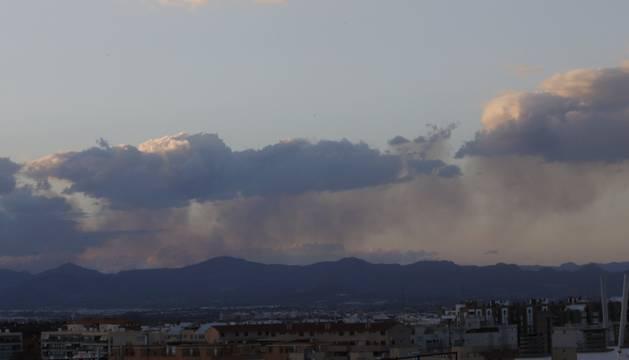 Foto del incendio forestal en el término de Gátova, en el paraje natural de la Sierra Calderona.