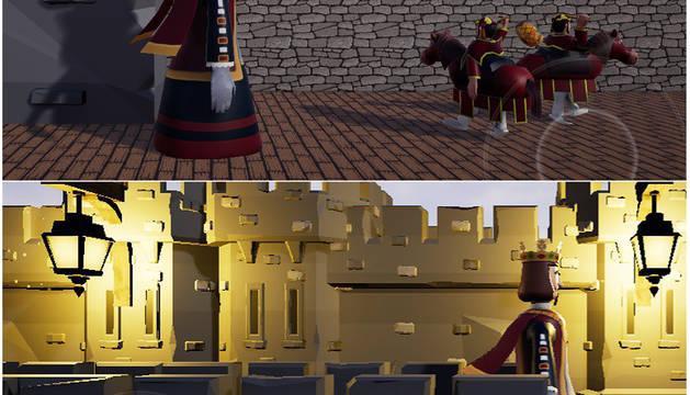 Capturas del videojuego de los gigantes