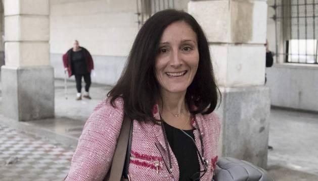 Foto de la juez María Núñez Bolaños.