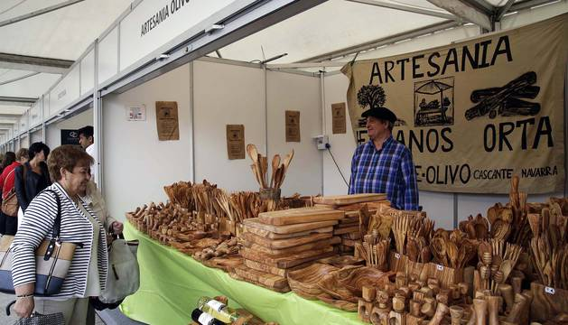 La artesanía ocupa la Plaza del Castillo este fin de semana