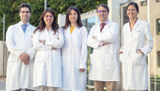 Pedro de la Rosa, Maira Bes Rastrollo, Sonia Eguaras, Miguel Ruiz-Canela y Silvia Carlos Chilleron.
