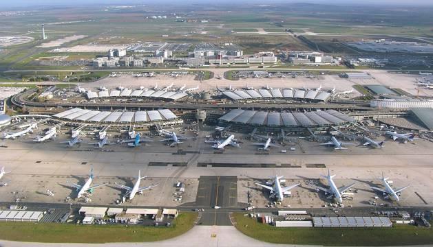 Aeropuerto de París-Charles de Gaulle.