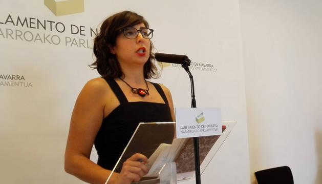 Laura Pérez, en una imagen de archivo.