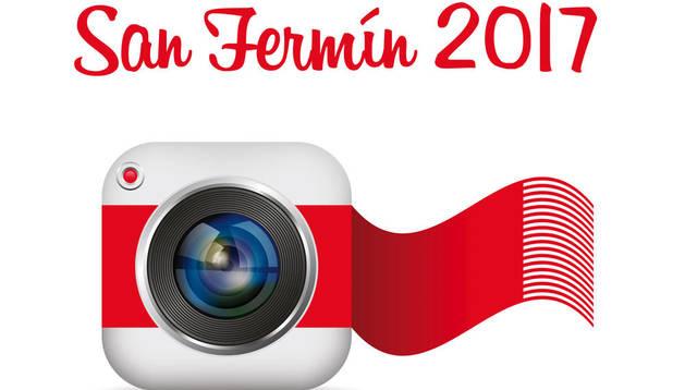 foto del Cartel del Concurso Fotográfico de San Fermín.