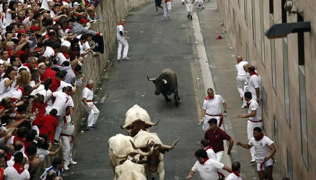 Imágenes de la carrera el 8 de julio.