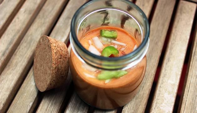 El gazpacho, refrescante y cargado de vitaminas.