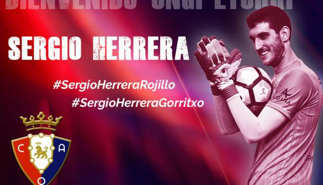 Sergio Herrera, nuevo portero de Osasuna