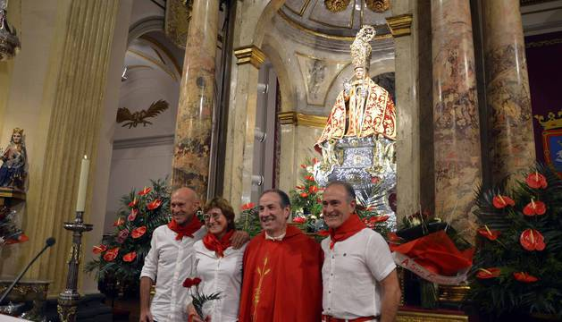 Una abarrotada capilla de San Fermín ha recordado este miércoles al corredor Julen Madina, fallecido el pasado agosto.