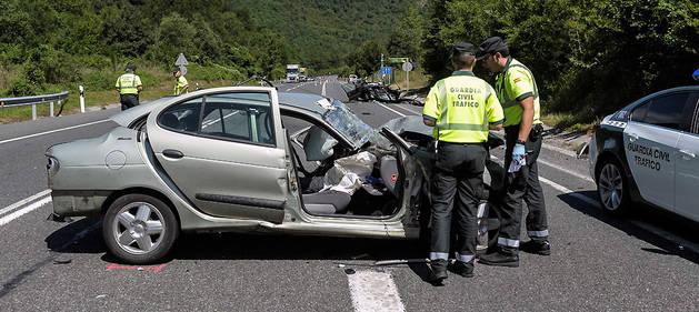 Accidente mortal en la N121-A