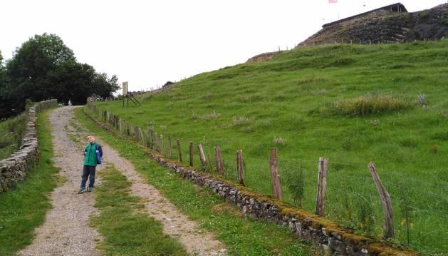 Fotos de la ruta del castillo de Amaiur (Navarra).