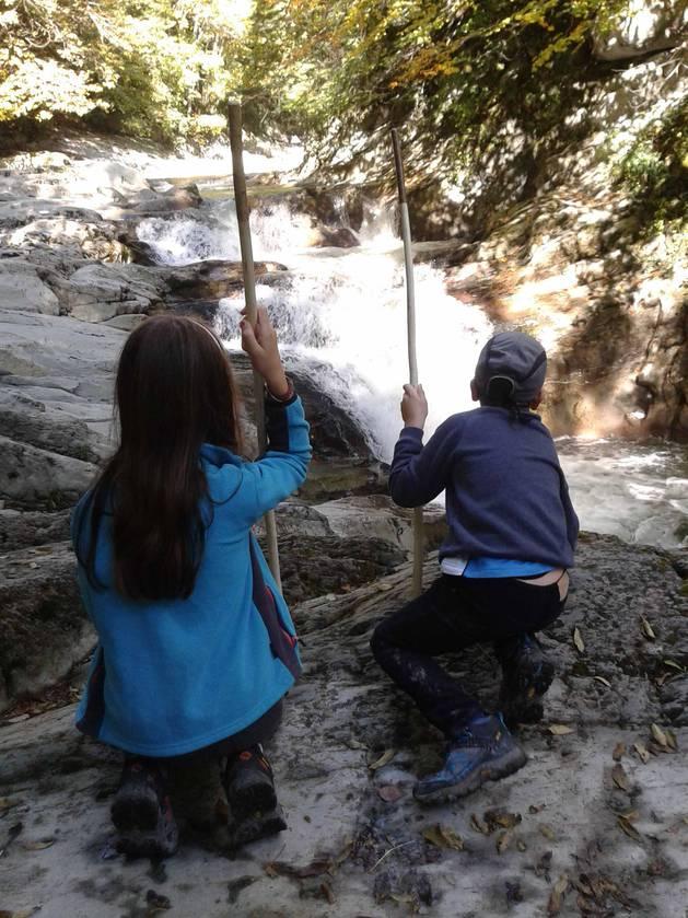 Rutas con niños: Cascada del Cubo
