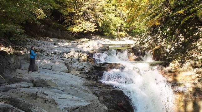 Imágenes de la ruta Cascada del Cubo.