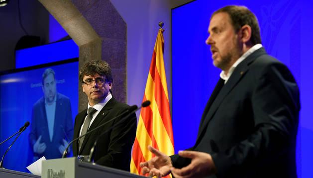 Puigdemont cambia consejeros para afrontar el referéndum con un equipo compacto