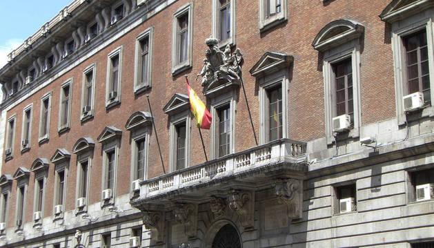 Imagen del Ministerio de Hacienda en Madrid.