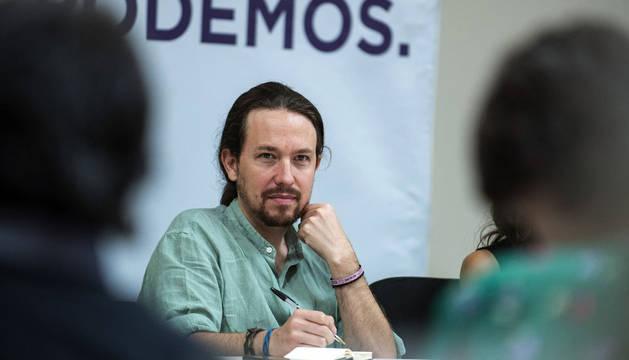 Iglesias niega que el pacto con el PSOE de Castilla la Mancha sea un experimento