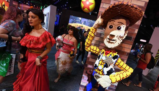 Feria D23, que tiene lugar estos días en la ciudad californiana de Anaheim (EE UU).