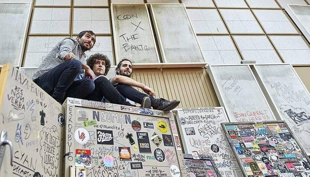 El grupo Con X The Banjo actuará el sábado en Valtierra, dentro del programa 'Kultur 2017'.