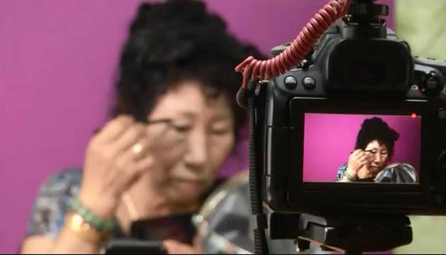 Imagen de Park Mak-rye, la abuela de Corea del Sur que se ha hecho famosa gracias a Youtube.