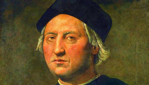 Retrato de Cristóbal Colón, obra de Ghirlandaio.