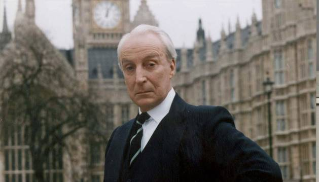 Foto de Ian Richardson fue Francis Urquhart en House of Cards.
