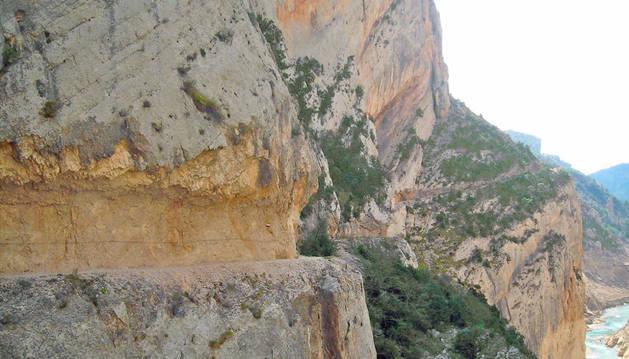 Imagen de Montrebei, en Huesca, donde ha fallecido un montañero este fin de semana.