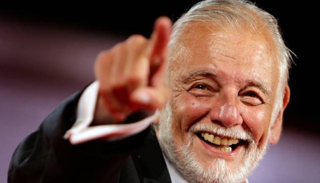 George A. Romero, director de cine fallecido.