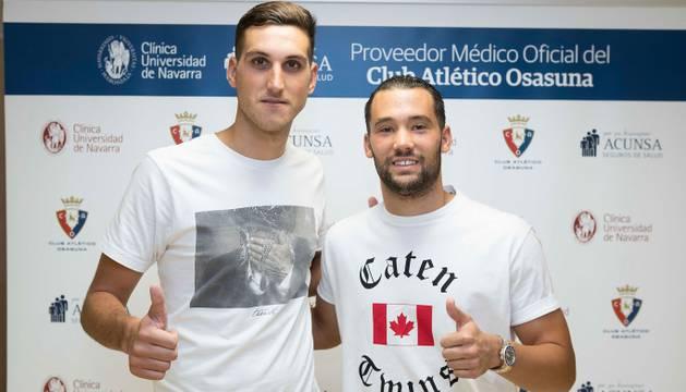Sergio Herrera y Quique González.