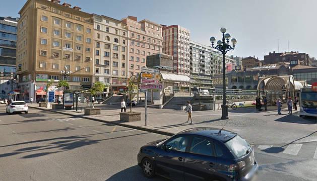 Estación de autobuses de Santander.