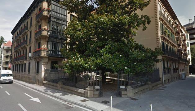 Imagen de la sede de la Mancomunidad de la Comarca de Pamplona.