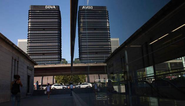 Sede central del BBVA, en Madrid.