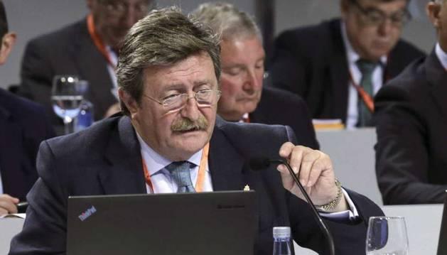 Juan Luis Larrea, nuevo presidente de la RFEF