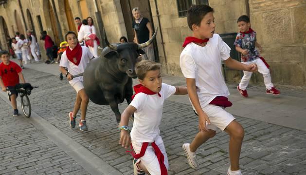 Imágenes del Día del niño de las fiestas de Puente la Reina