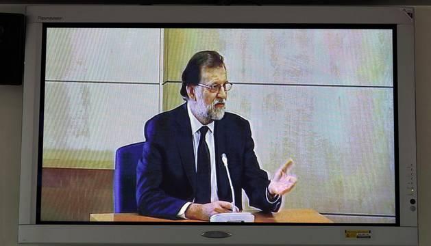 Declaración de Rajoy en la Audiencia Nacional